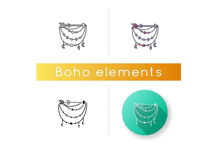 Boho accessory with arrow icon example image 1