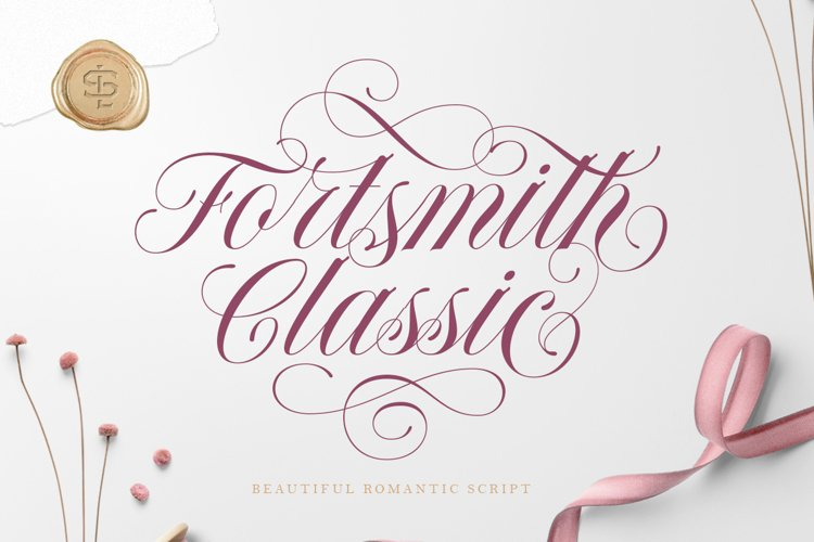 Forthsmith Classic Script example image 1