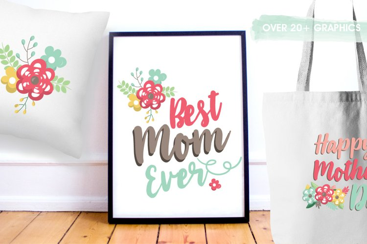 Mother's day graphics and illustrations - Free Design of The Week Design0