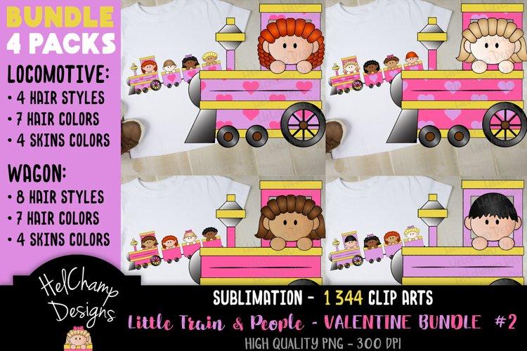 Little Trains collection - Valentine - BT003