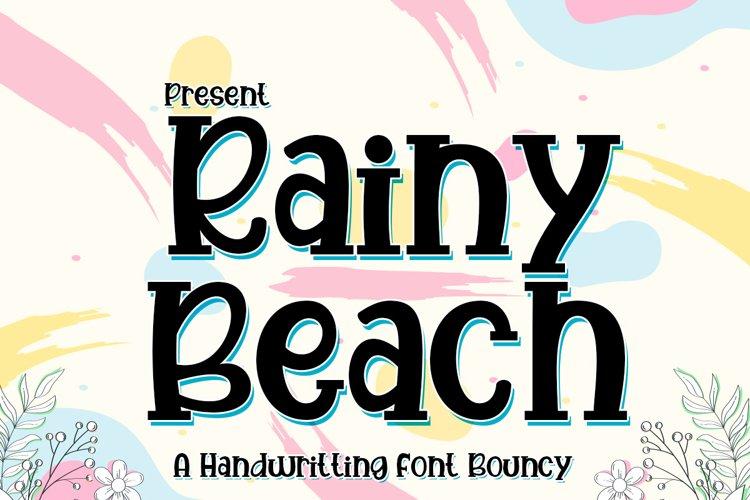 Rainy Beach example image 1
