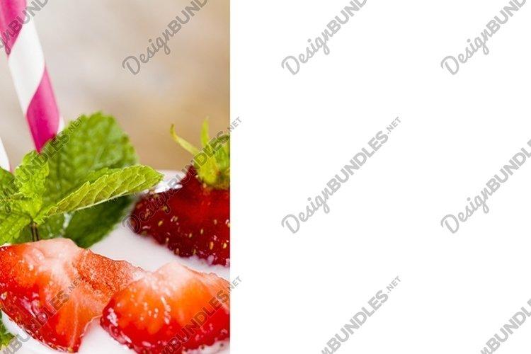 yogurt and strawberries example image 1