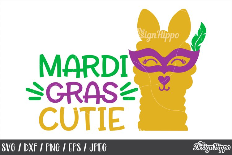Mardi Gras Cutie, Girls, Cute, SVG DXF PNG, Cricut Cut Files
