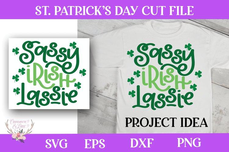 St. Patricks Day SVG - Sassy Irish Lassie