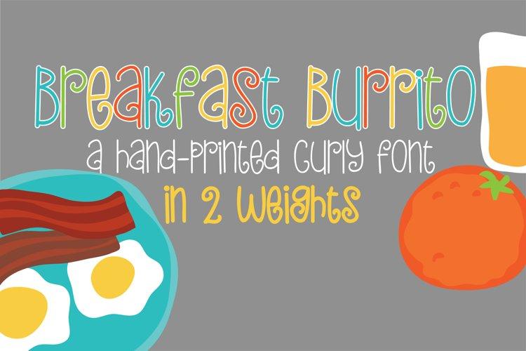PN Breakfast Burrito example image 1