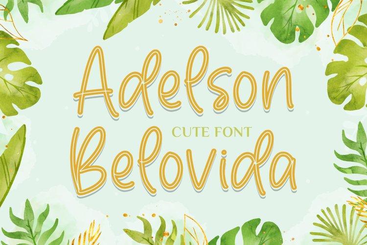 Adelson Belovida example image 1
