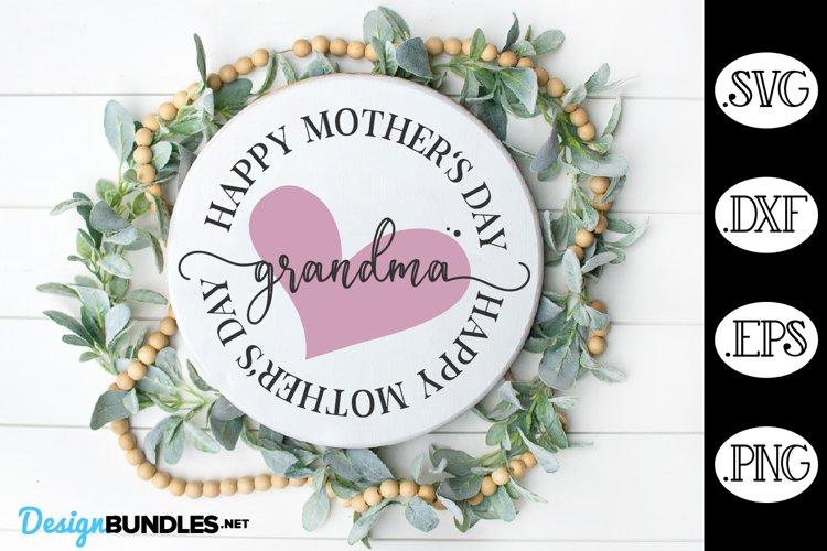 Grandma SVG, Happy Mothers Day SVG