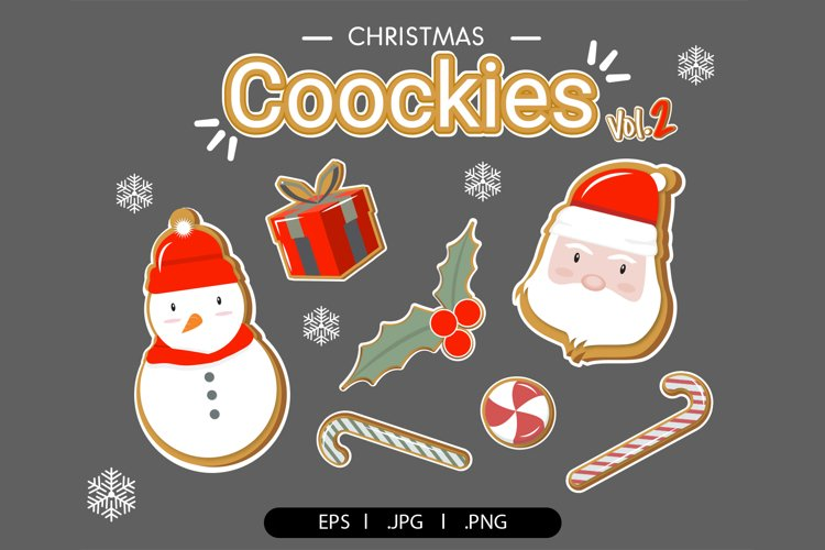 Christmas cookies clipart vol.2