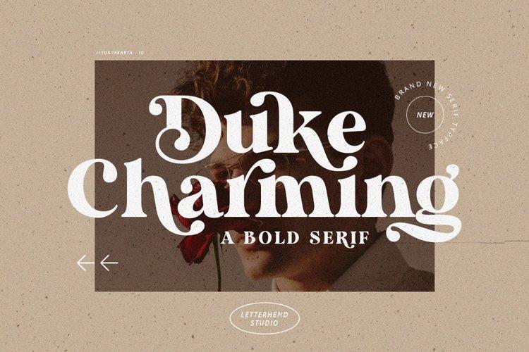 Duke Charming - A Unique Bold Serif example image 1