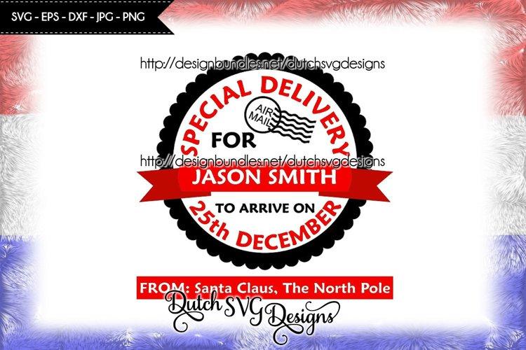 Santa Delivery cutting file, santa sack svg, christmas svg example image 1