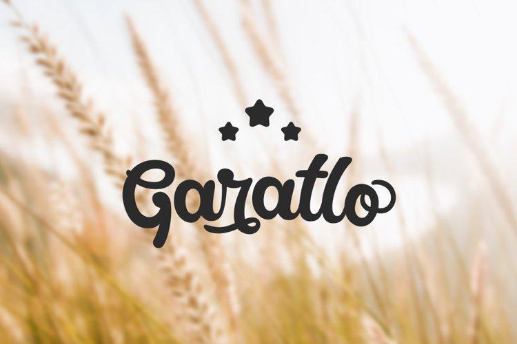 Garatlo - Script Family example image 1