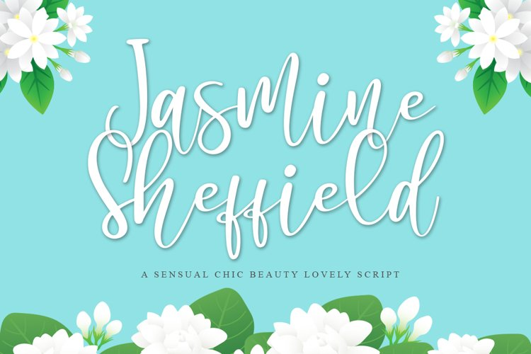 Jasmine Sheffield a Chic Sensual Script example image 1
