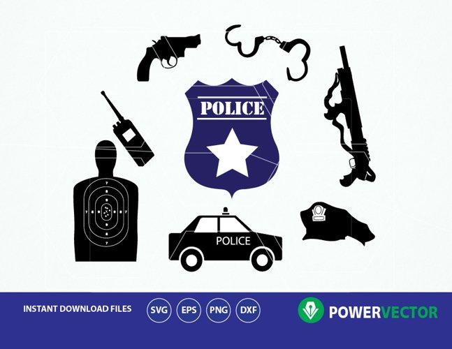 Police svg. Police Clip art, Silhouette