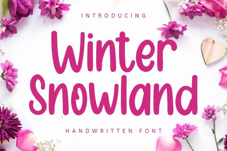 Winter Snowland example image 1