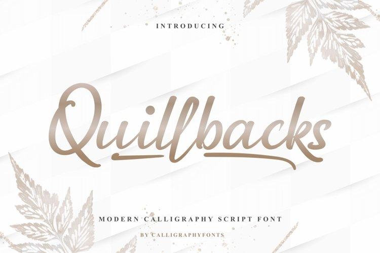Quillbacks example image 1