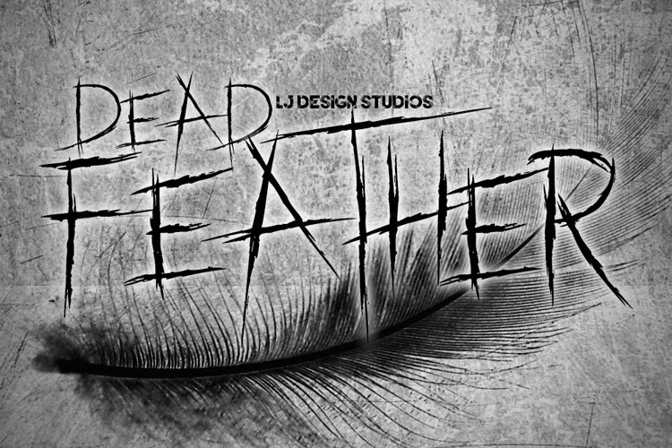 Dead Feather Font example image 1