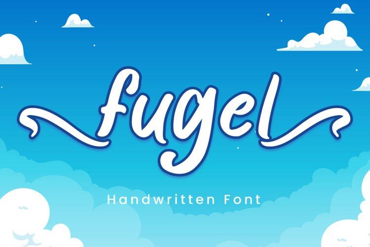 Fugel - Handwritten Font example image 1