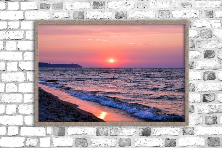 sea sunset photo, landscape photo, sea photo, sunset