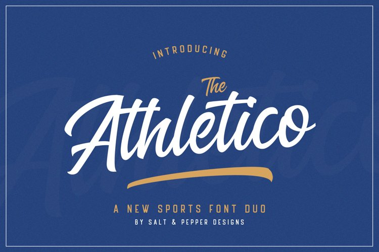 The Athletico Font Duo example image 1
