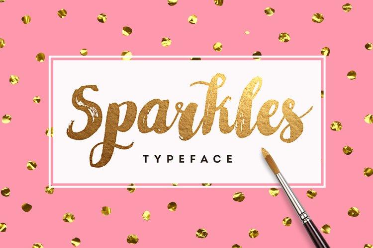 Sparkles Font + Big Bonus