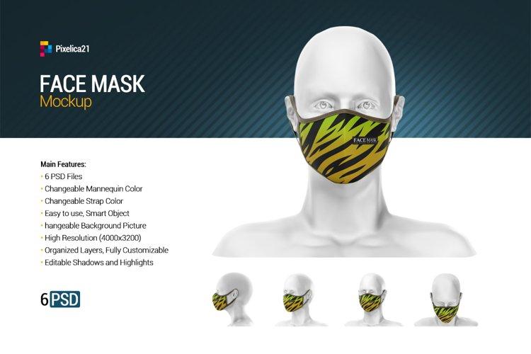 Face Mask Mockup example image 1