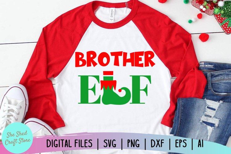 Brother Elf SVG, Christmas Family SVG, Boys Christmas SVG example image 1