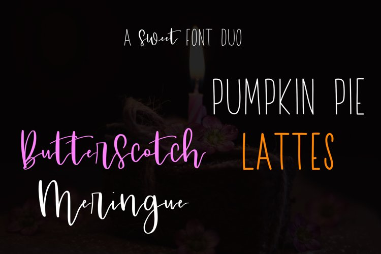 A Sweet Font Duo