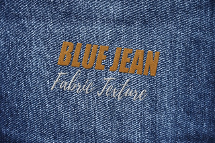 15 Denim Jean Fabric Textures JPG example 2
