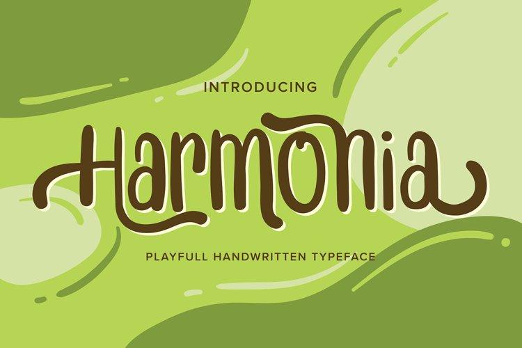 Harmonia | Playfull Handwritten Typeface example image 1