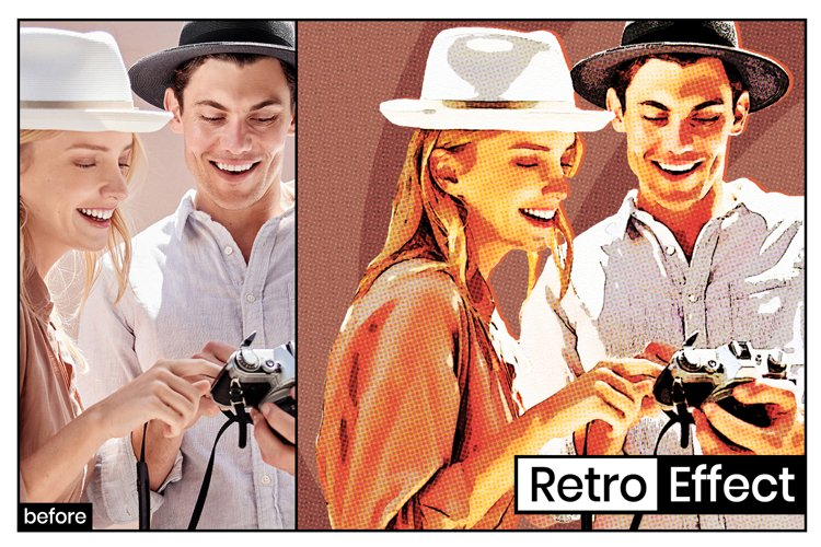 Retro Poster Effect example image 1