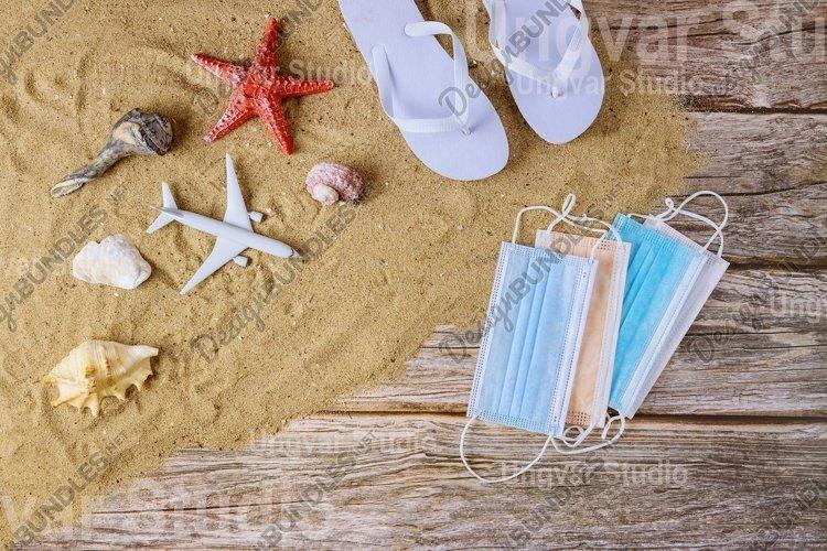 COVID-19 vacation during ban on air travel summer vacation example image 1