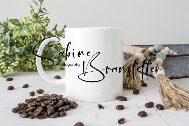 Mockup - White Coffee Mug, Drinkware Photography
