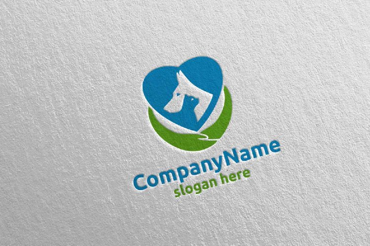 Dog and Cat Logo Design 16 example image 1