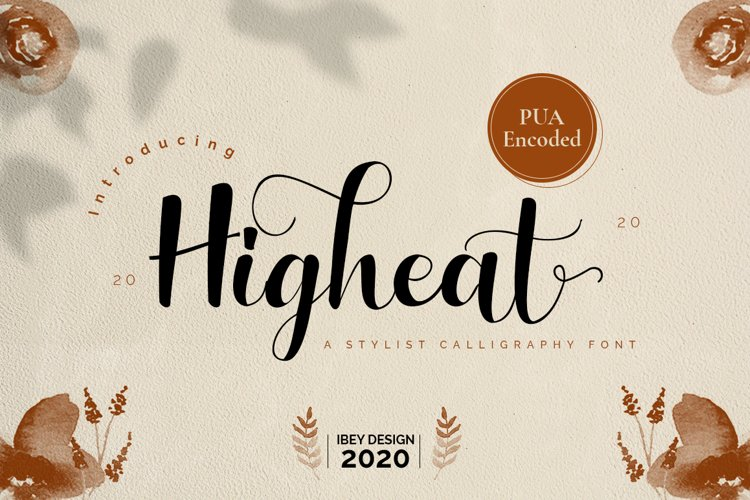 Higheat Stylish Calligraphy example image 1