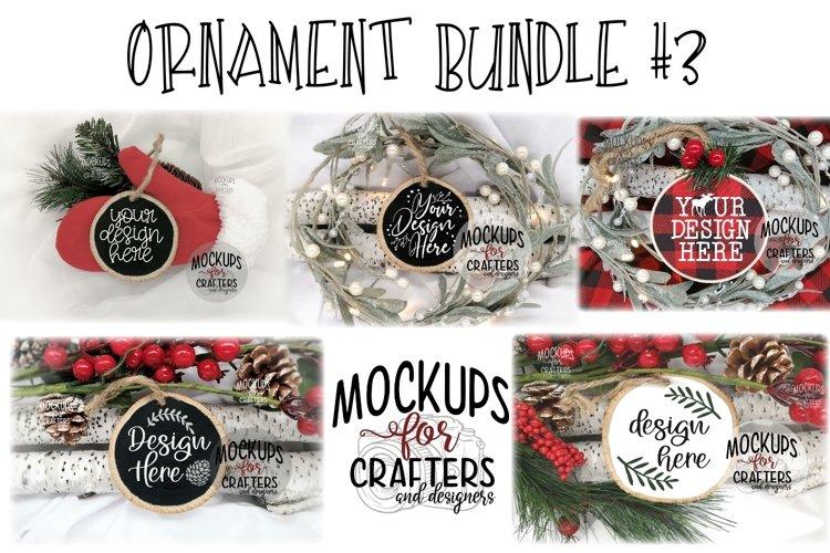 Ornament Bundle #3 - FIVE ORNAMENT MOCK-UPS