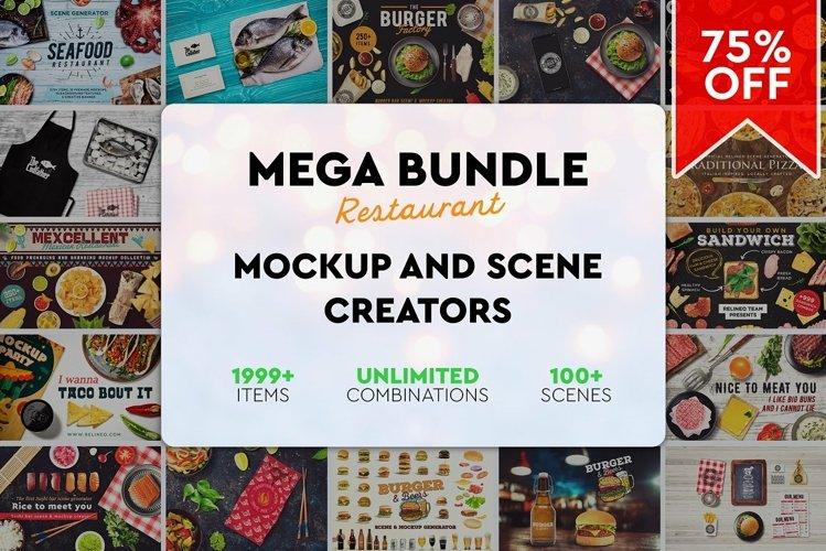The MEGA Bundle - Premium Restaurant Scene Creators