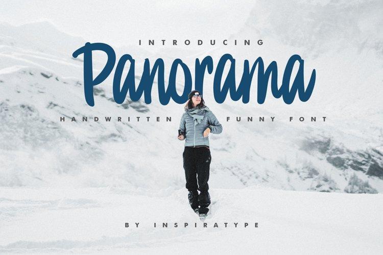 Panorama - Funny Handwritten example image 1