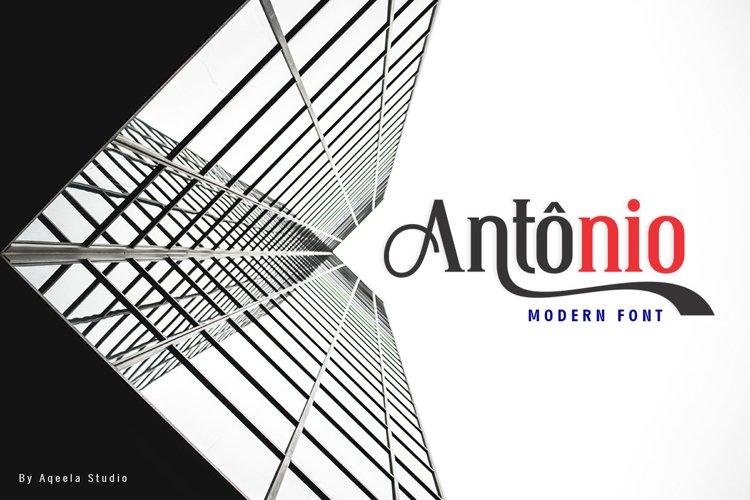 Antonio example image 1