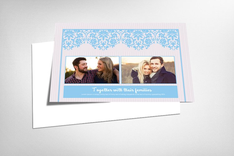 Elegant Save The Date Cards example image 1