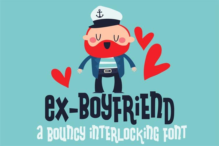 ZP Ex-Boyfriend - Free Font of The Week Font