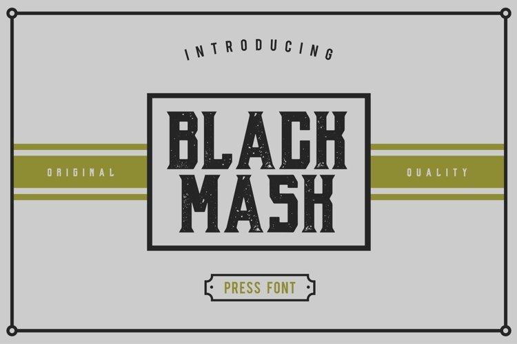 Web Font Black Mask example image 1