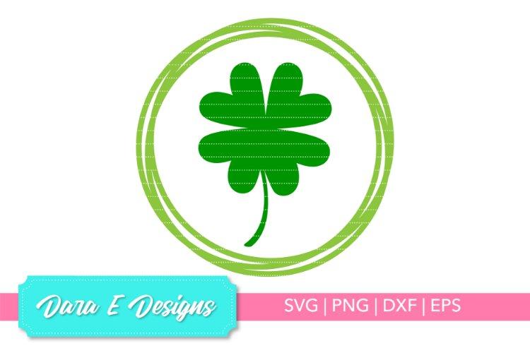Lucky Clover SVG | St Patricks Day SVG | Luck Shirt Design example image 1