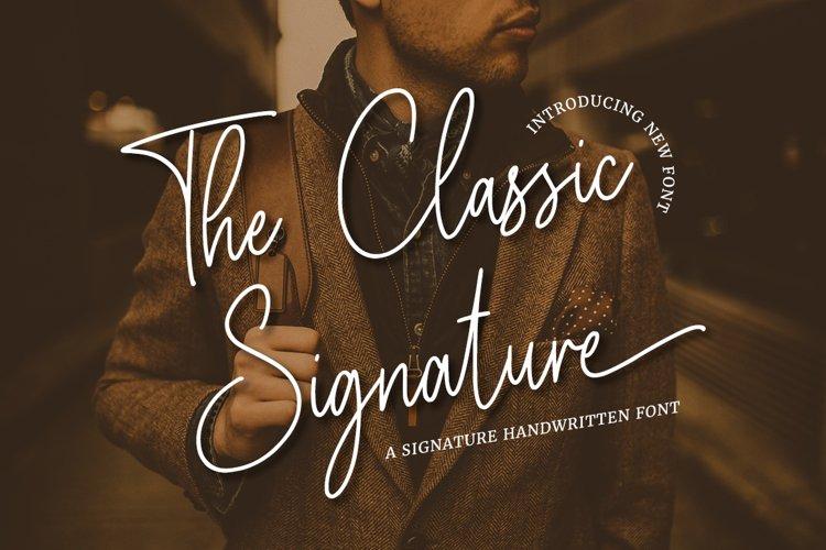 The Classic Signature example image 1