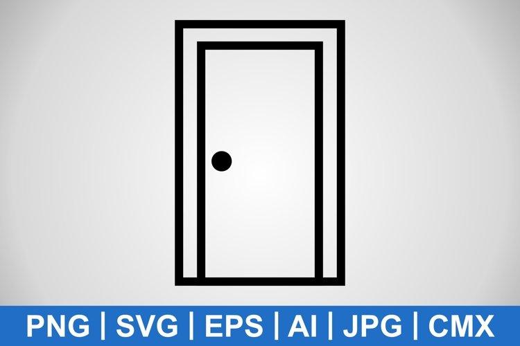 Vector Door Icon example image 1