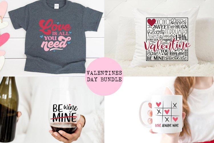 Valentines SVG Bundle - Includes 12 Designs