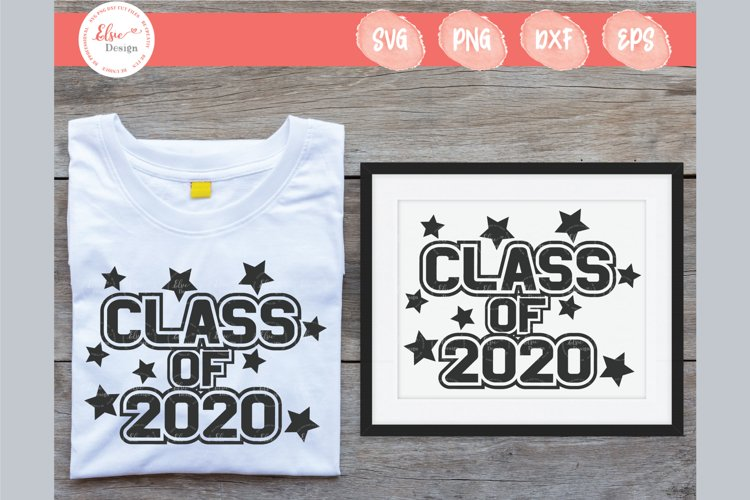Class Of 2020 SVG Cut Files example image 1