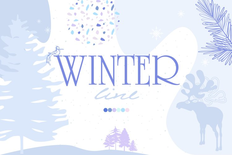 Winter line collection example image 1