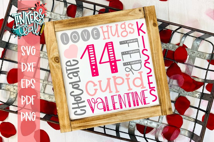Valentines Day Subway SVG example image 1