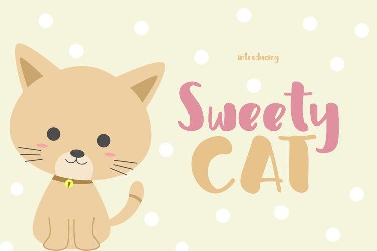 Web Font Sweety Cat example image 1