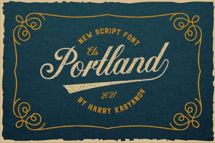 Portland Script Font example image 1